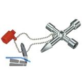 KNIPEX Profischlüssel für Bereich Heizung Klima Sanitär Länge 90 mm