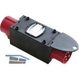 Reduzierungs-Steckvorrichtung Kunststoff 32A/16 Ampere 400 Volt IP44