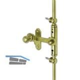 Fensterreiberstange FRV 1, 1000 mm, Messing poliert