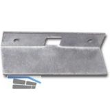 Reparaturschließblech für Einlegstange gekröpft, 69 x 16 mm, Stahl verzinkt