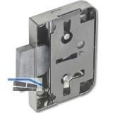 SECOTEC Möbelanschlagschloss 20 mm mit Euroschlüssel vernickelt SB-1
