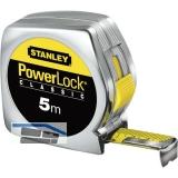 STANLEY Rollbandmaß Powerlock  3 m EG-Prüfzeichen Genauigkeit II