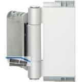 Haustürband Easy 3D m. Stiftsicherung, Aluminium verchromt matt eloxiert