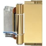 Haustürband Easy 3D m. Stiftsicherung, Aluminium vermessingt eloxiert