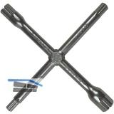 Sanitär-Kreuzschlüssel 13 Funktionen