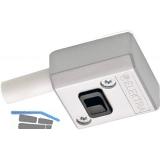 Schaltermodul LD 8010A alufarbig inkl. Anschlussleitung mit Ministecker.