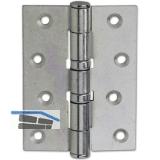 Scharnierband für stumpfe Türen, 101,6 x 76 x 3,0 mm, Stahl verzinkt