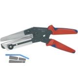 KNIPEX Schere für Kunststoffe bis 4 mm Dicke Länge 275 mm