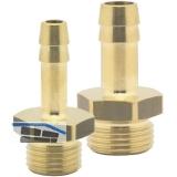 Druckluft Einschraubtülle Messing mit AG 1/4\ für 6 mm Schlauch