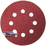 Schleifscheibe 125 mm 8-Loch Kletthaftung Korn  40 (5 St) für alle Hölzer