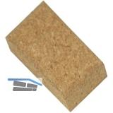Schleifkork aus Naturkork 100 x 60 x 40 mm
