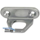 Schließblech zu Oberlichtschnapper, Überschlag 4 mm, Stahl verzinkt