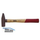 STUBAI Schlosserhammer DIN1041 mit Hickorystiel  100 g