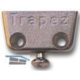 HETTICH Trapez, 20 x 12 x 40 mm, Zink vernickelt