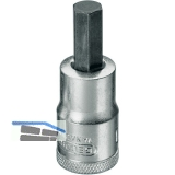 GEDORE Schraubendreher-Einsatz IN19 DIN7422 1/2\vierkant  4.0 mm Innensechskant