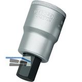 GEDORE Schraubendreher-Einsatz IN21 DIN7422 1\vierkant Innensechskant 17.0 mm