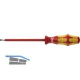 WERA VDE-Schraubendreher 160i  mit Lasertip 0.6 x 3.5 x 100 mm Schlitz