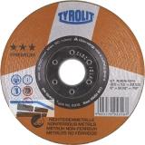 TYROLIT Schruppscheibe Premium*** Alu 115 x 7 mm Form 27