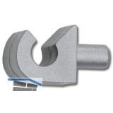 Schuhrostclip Dübelzapfen ø 5 mm, Kunststoff silber