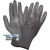 STAFFL Schutzhandschuh Pu-Touch grau Gr. 10 EN388 Kategorie II