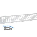 SECOTEC Lüftungsgitter Aluminium natur eloxiert 100X1000 mm SB-1