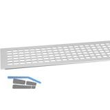 SECOTEC Lüftungsgitter Aluminium natur eloxiert 100X800 mm SB-1