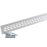 SECOTEC Lüftungsgitter Aluminium natur eloxiert 60X600 mm SB-1