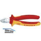KNIPEX VDE-Seitenschneider DIN 5749 Länge 125 mm