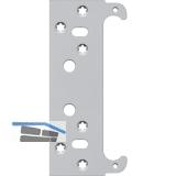 Befestigungsplatte für Futterzarge zu TECTUS TE240 3D, Stahl verzinkt