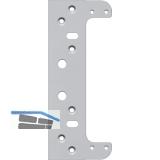 Befestigungsplatte für Futterzarge zu TECTUS TE540 3D, Stahl verzinkt