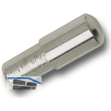 Steckbodenträger Maxi, Bohr ø 5 mm, vernickelt, VPE 100 ST