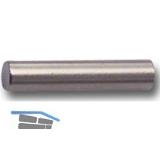Steckbodenträger Stift, Bohr ø 5 mm, Länge 20 mm, vernickelt, VPE 100 ST