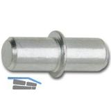 Steckbodenträger Duo, Bohr ø 5 mm, vernickelt, VPE 100 ST
