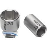 PROXXON Steckschlüssel-Einsatz 1/2\ vierkant 13.0 mm sechskant