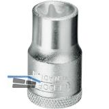 GEDORE Steckschlüssel-Einsatz TX19-E DIN3120 1/2\vierkant Außentorx TX E10