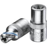 GEDORE Steckschlüssel-Einsatz TX20 DIN3120 1/4\vierkant Außentorx TX  E8