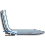 Stifthaken 40 mm Stahl verzinkt-blau
