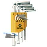 Sechskant Stiftschlüssel-Satz Zoll im Clip Gr. 0,05-3/8\ 13-teilig