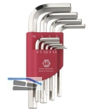 Sechskant Stiftschlüssel-Satz ISO 2936 Gr. 1,5-10 mm 9-tlg.