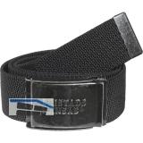 FRISTADS/KANSAS Stretchgürtel schwarz 120 cm