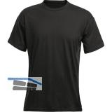 ACODE T-Shirt Basecamp schwarz Gr.46 (S) 100%Baumwolle