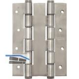 Pendeltürband doppelt wirkend, Rollen ø 18 mm, Höhe 180 mm, Edelstahl