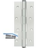 Pendeltürband einseitig wirkend, Rollen ø 16 mm, Höhe 180 mm, silber eloxiert