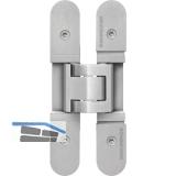 Türband TECTUS TE 526 3D, verdeckt f. stumpfe Türen, Edelstahl matt gebürstet