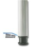 Ersatz-Verstellteller unten - Tischfiuss zylindrisch/Aluminia ø 60 mm