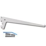 Träger PRO 10105, Länge 150 mm, Stahl weiß (ähnlich RAL 9003)