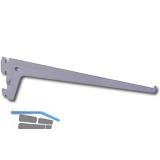 Träger PRO 10105, Länge 150 mm, Stahl weiß-alu (RAL 9006)