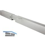 BETA Traverse FLEX für Tischplattenbreite 1112-1900mm,RAL 9006 alufarbig matt