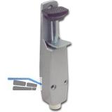 Türfeststeller Hub 30 mm, 40 x 190 mm, Zinkdruckguss dunkelbraun