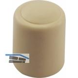 Wand-u. Bodentürpuffer  - ø 30 mm, Höhe 32 mm, Kunststoff elfenbein